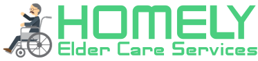 Homely Elder Care Service Logo